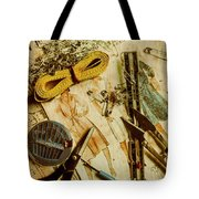 Scene From A Fifties Craft Room Tote Bag