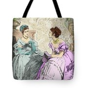 Scene From Anthony Trollope's Novel He Knew He Was Right Tote Bag