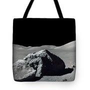 Scene From Apollo 17 Extravehicular Tote Bag