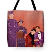Scene From Grand Budapest Hotel Tote Bag