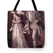 Scene From Much Ado About Nothing By William Shakespeare Tote Bag