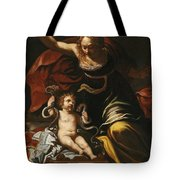 Scene From The Childhood Of Hercules Tote Bag