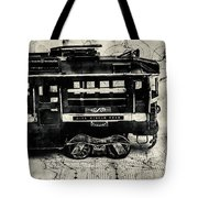 Scene From The Old Tramway Tote Bag