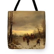 Scene From The Thirty Years War Tote Bag