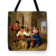 Scene In A Country Tote Bag