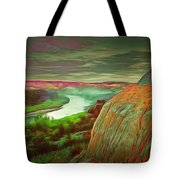Scene In Ambiance Tote Bag