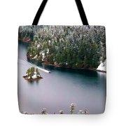 Scene Over Diablo Lake Tote Bag