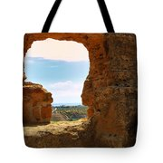 Scene Through Antiquity Tote Bag