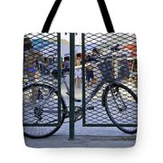 Scene Through The Gate Tote Bag