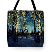 Scenery After Rain Tote Bag