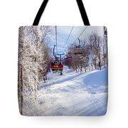 Scenery Around Timberline Ski Resort West Virginia Tote Bag
