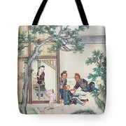 Scenes Of Daily Life Tote Bag