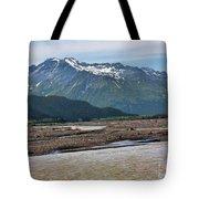 Scenic Alaska Color  Tote Bag
