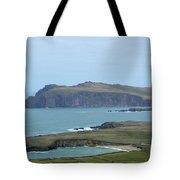 Scenic Blasket Islands As Seen From Slea Head Penninsula Tote Bag