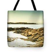 Scenic Coastal Dusk Tote Bag