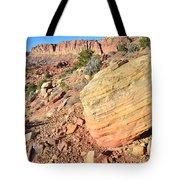 Scenic Drive Boulder View Tote Bag