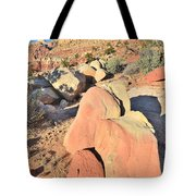 Scenic Drive Sunset Tote Bag
