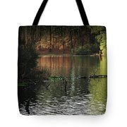 Scenic Elder Lake Tote Bag
