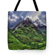 Scenic Glen Coe Tote Bag