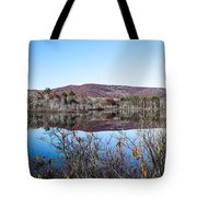 Scenic Lake On The Kancamangus Tote Bag