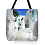 Scenic Mykonos Tote Bag
