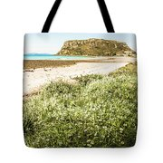 Scenic Stony Seashore Tote Bag