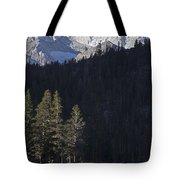 Scenic View Of Mount Abbot 13701 Ft Tote Bag