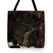 Scenic View Of Zion National Park Tote Bag