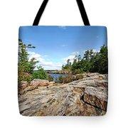 Scenic Wreck Island Tote Bag