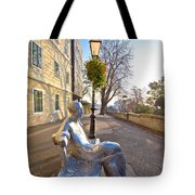 Scenic Zagreb Upper Town Walkway Tote Bag