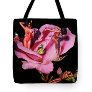 Scent Of A Lady Tote Bag