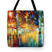 Scent Of Rain Tote Bag