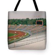 Schalke 04 - Parkstadion - North Goal Stand 1 - April 1997 Tote Bag