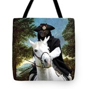 Schipperke Art Canvas Print - The Danube Valley Near Regensburg Tote Bag