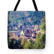 Schloss Heidelberg Tote Bag