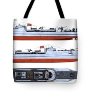 Schnellboot S100 Tote Bag