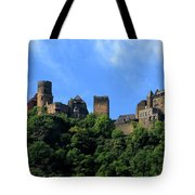 Schoenburg Castle Oberwesel Germany Tote Bag