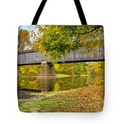 Schofield Bridge Over The Neshaminy Tote Bag