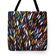 School Of Anchovies Abstract 2 Tote Bag