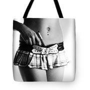 Schoolgirl Surprise Tote Bag