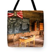 Schoolhouse Classroom At Old World Wisconsin Tote Bag