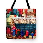 Schools Out Tote Bag