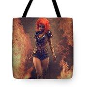 Sci-fi Beauty 4 Tote Bag