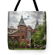 Science And Arts Building Tote Bag