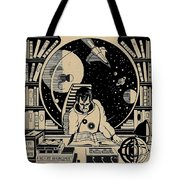 Science Books Tote Bag