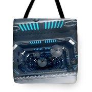 Science Fiction Corridor - Spaceballs Tote Bag