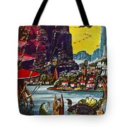 Science Fiction Cover, 1941 Tote Bag