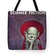 Science Fiction Cover, 1954 Tote Bag by Granger