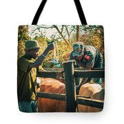 Science In Africa Tote Bag