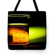 Scientific Beaker In Science Research Lab Tote Bag